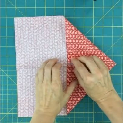 I've posted a tutorial for 2 quilt blocks with fabric origami. Full video on my blog. #sewingvideo #sewing #origami #fabricmanipulation #fabricorigami #fabricorigamiflowers #craft #crafts #videotutorial