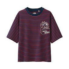 WOMEN Olympia Le-Tan Short Sleeve Graphic T-Shirt