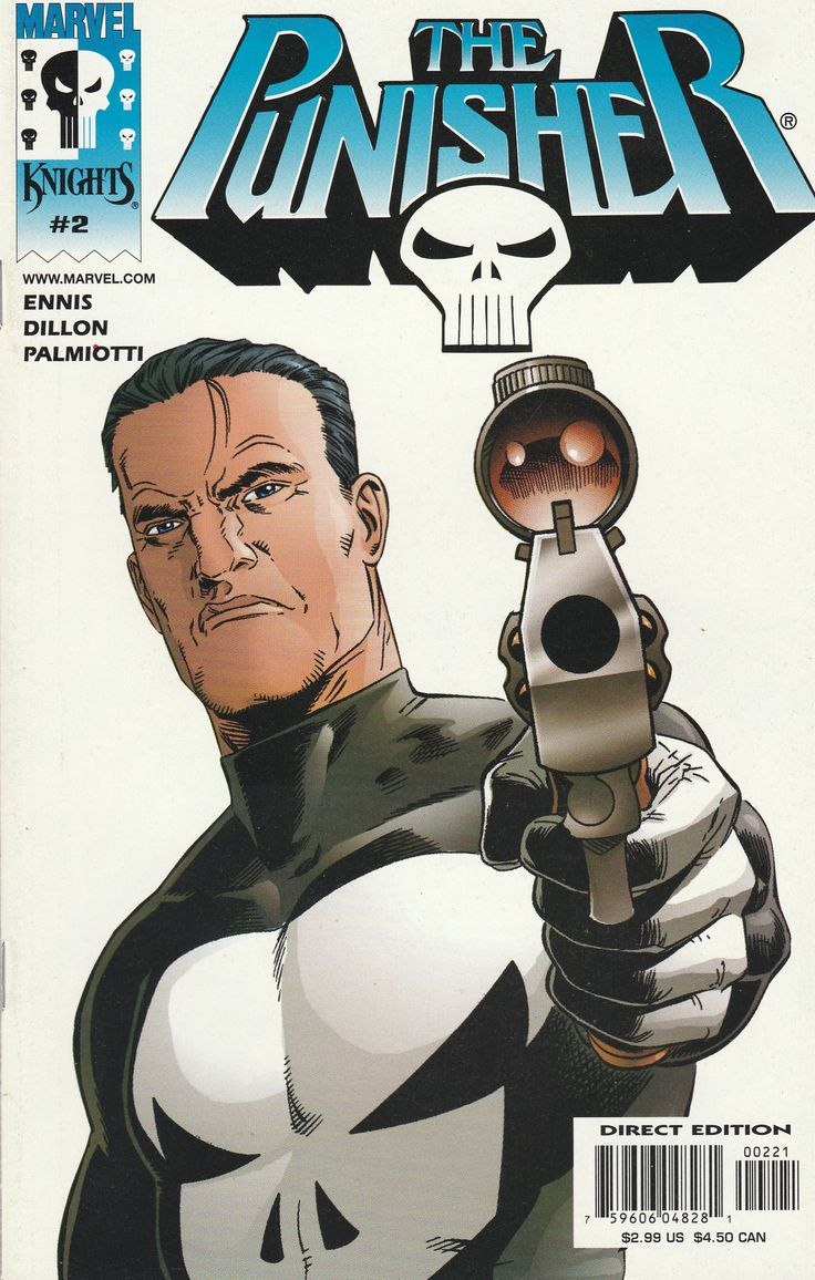 The Punisher # 2 Marvel Knights Imprint of Marvel Comics Variant Cover