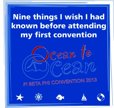Check out some helpful hints for our first-time convention attendees!