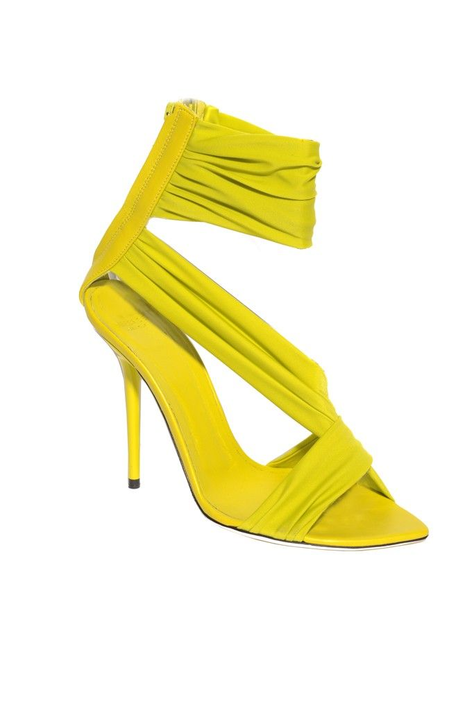 Versace Resort 2014: 2014 Neon, 2014 Fashion, 2014 Lbv, Versace Resorts, Resorts 2014, 2014 Bb, Versace 2014, 2014 Heels, Styles Shoes