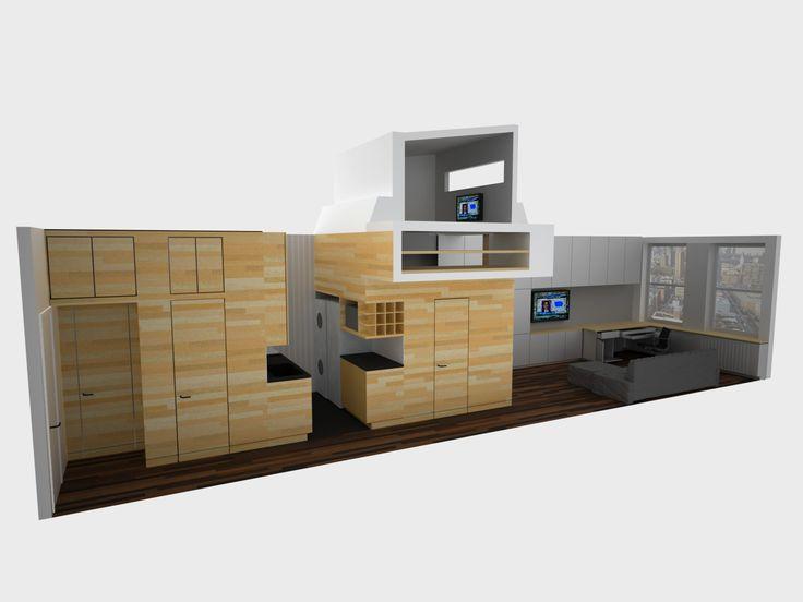 4c881bb80abed305dc4ec22bddfe8a51  Studio Apartment Design Small Studio  Apartments