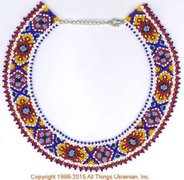 AllThingsUkrainian.com gherdany Bead Jewelry  # GIBN15129