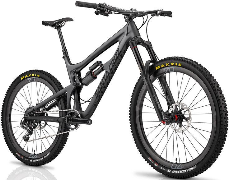 Santa Cruz Nomad Carbon 650b Matt Carbon Black Mtb