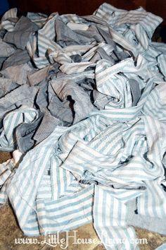 How to Make Rag Rugs – Make Your Own Rag Rugs – Braided Rag Rug