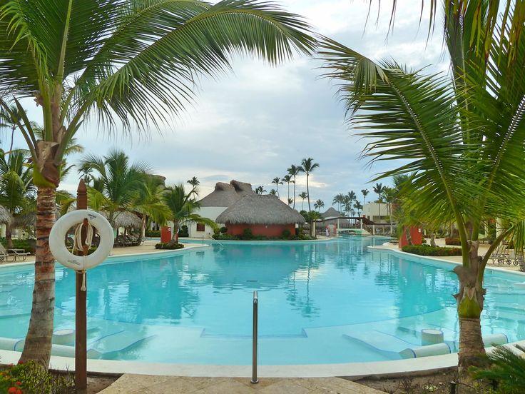 Main activity pool at Breathless Punta Cana