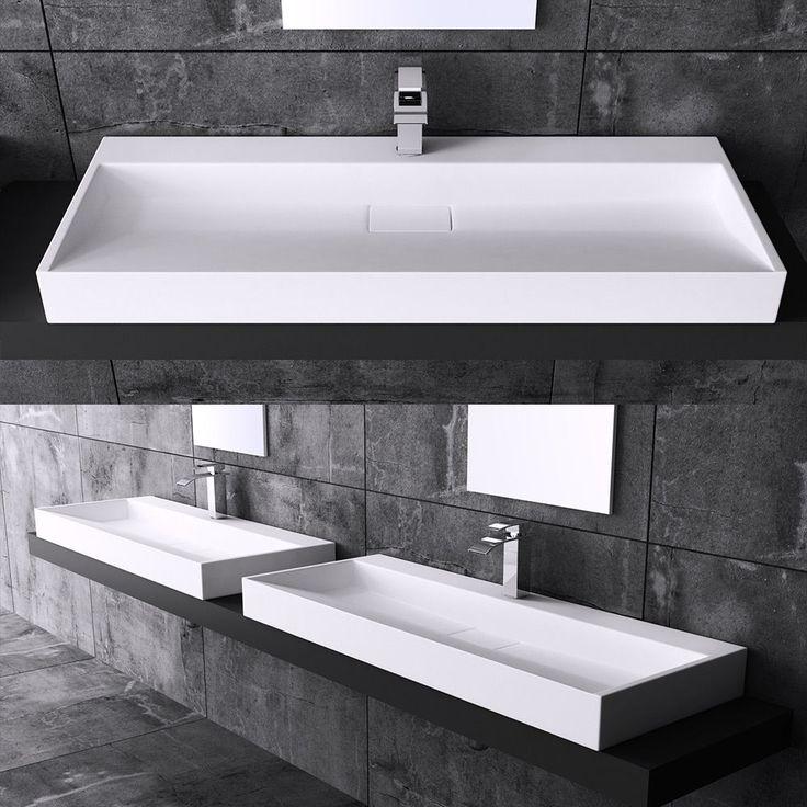 Die besten 25+ Anordnung von Spülbecken im Bad Ideen auf Pinterest - badezimmer doppelwaschbecken