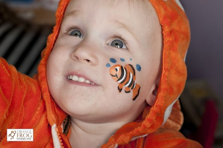 22 best images about face painting on pinterest cupcake for Easy fish painting