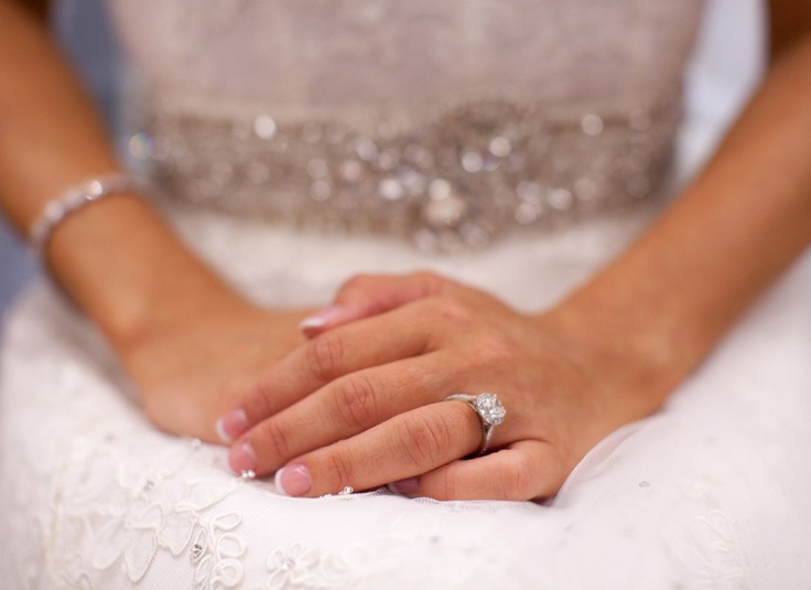 Beautiful, graceful, poised, and polished - both the bride and the jewelry!  Photo from the wedding of Erica and Adi, courtesy of Duke Images.: Wedding Parties, Nail Styles, Wedding Day Nails, Wedding Nails, Weddings, Brides, Perfect Wedding, Wedding Party
