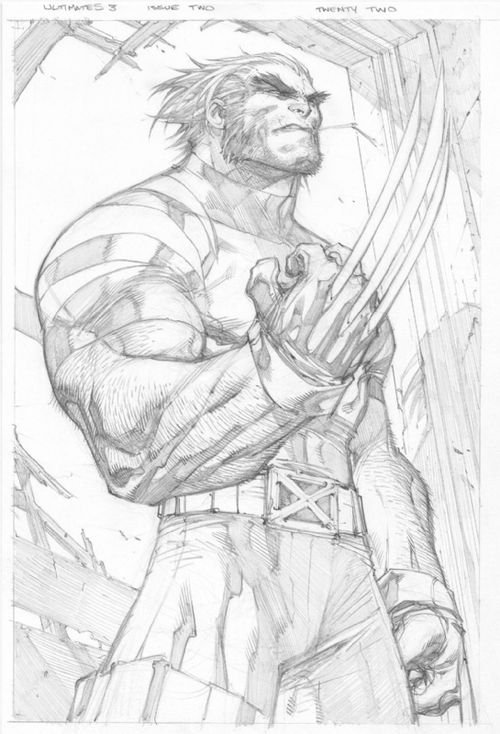 kandidkandor:  Ultimate Wolverine | Joe Madureira