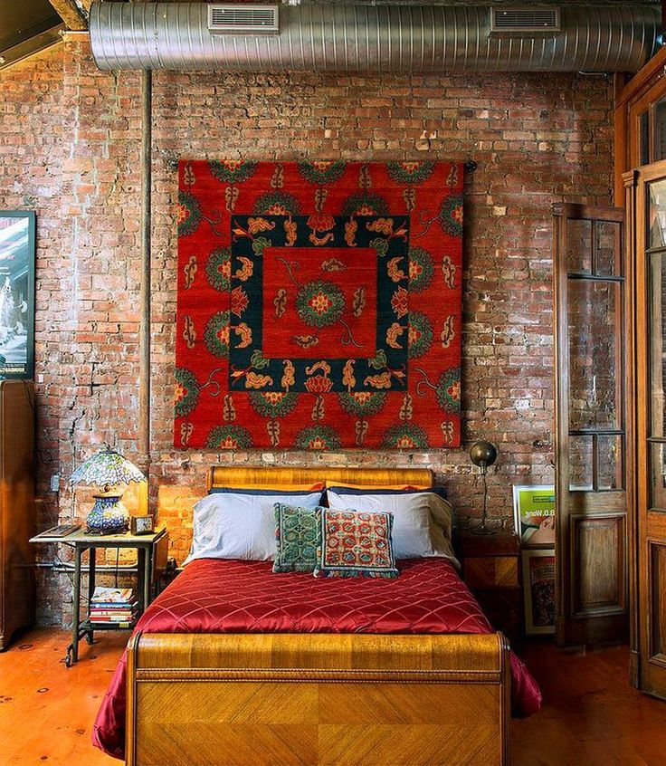 1000+ Ideas About Brick Wall Bedroom On Pinterest