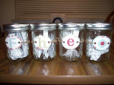 Family Home Evening jars
