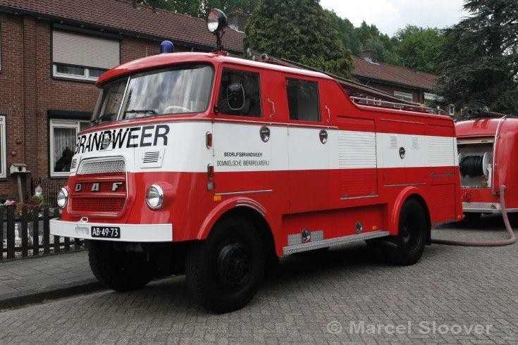 DAF V1600BB358 (1967) Bedrijfsbrandweer Dommelsche Bierbrouwerij. AB-49-73…