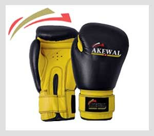 Professional Boxing Gloves Made of Cowhide leather, curved thumb and retainer, high density molded shock absorbing foam, soft latex and underlay padding, fully bound and nylon sewn, washable taffeta lining, Velcro strap closure.  Size: 8, 10, 12, 14, 16-OZ  Color: As Per Demand.  OEM & ODM Services available with desired Logos, Label & Tags.