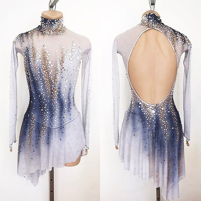 Custom Made Skating Costume for my new client Andrea ✨Can't wait to see it in action at Junior Worlds ⭐️ #lisamckinnon #costumedesigner #custom #custommade #skating #costume #dress #figureskating #iceskating #dance #ballroom #beadeddress #swarovski #crystals #airbrushing #handpainted #artist #art #teammexico #junior #worldchampionship #lovewhatyoudo #dowhatyoulove