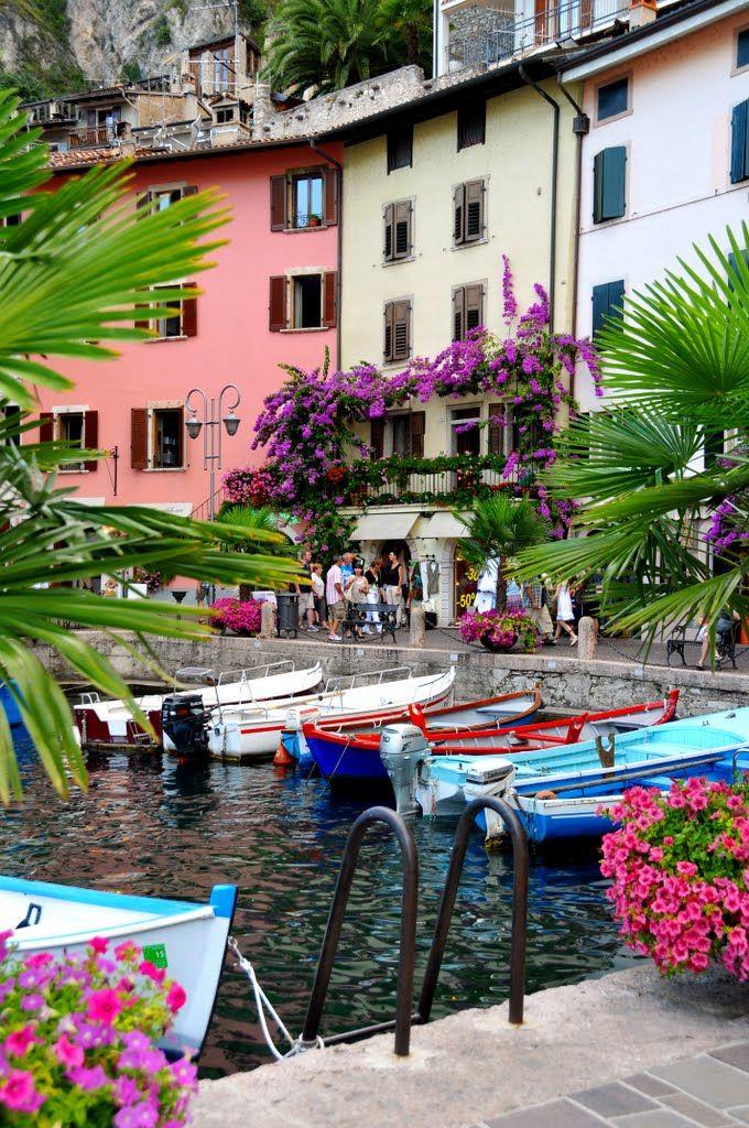 Le vieux port de Limone,  Itàlia • Llombardia Limone Sul Garda