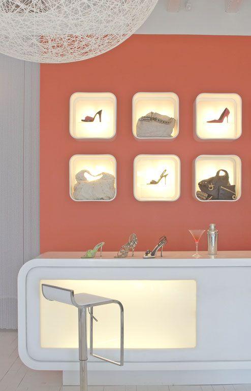 Shoe Bar Atlanta Retail Interior DesignBacheloretteAtlantaDallasBoss