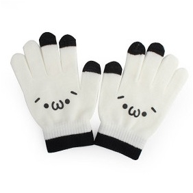 Dot Gloves for iPhone iPad - White# List Price: US$6.23  Price:        * US$        € £ CA$ AU$ HK$ CHF ¥    2.41Warm your hands in winter  No need to remove your gloves to use your phone or send text messages  Special conduction material  Dot gloves for iPhone,ipad,Blackberry,Touch device  For all touch screen device  Color: White  Size: fits all    Packaged:    1 pair of new gloves    Specification:    Weight Approx:24.7g  Size Approx:18 x 12 x 1.5 cm