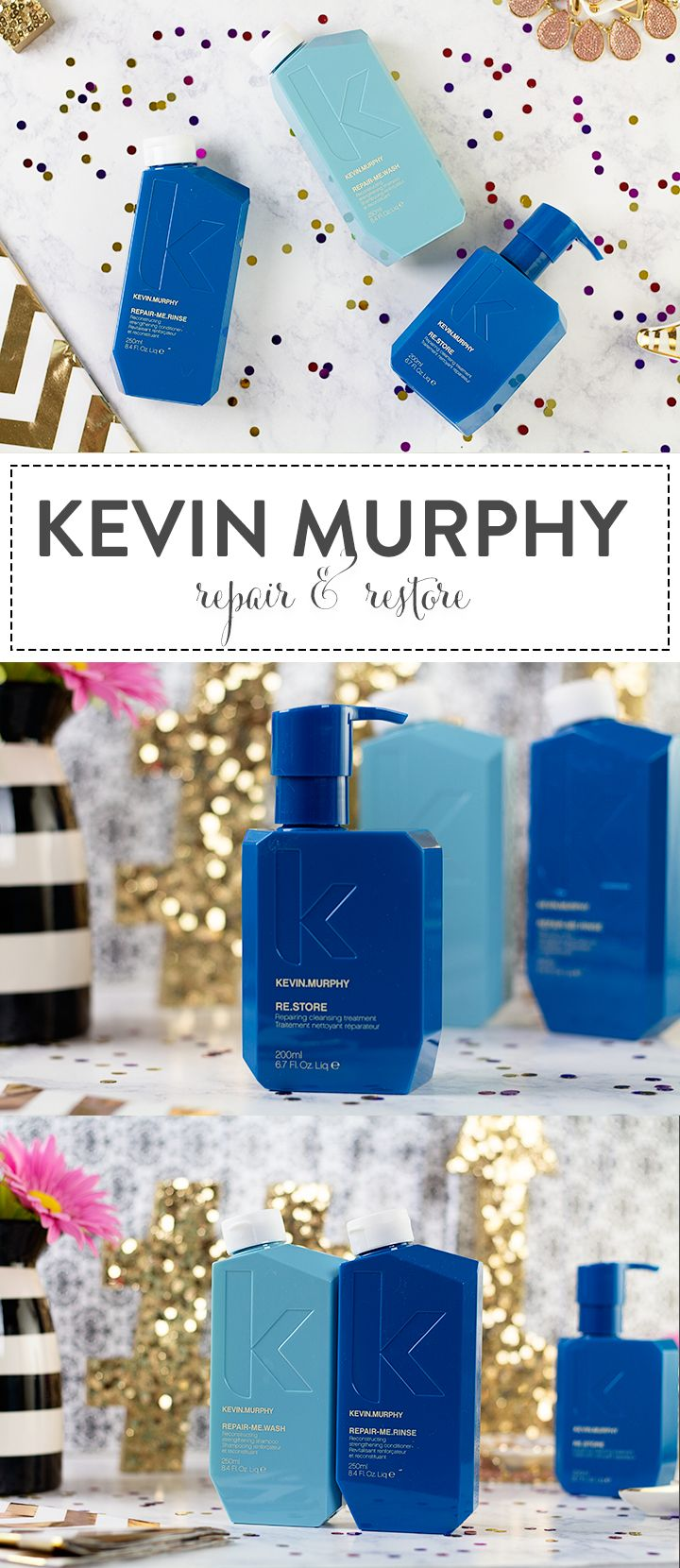 REPAIR.ME WASH, RINSE and RE.STORE with Kevin Murphy | Hairspray and Highheels