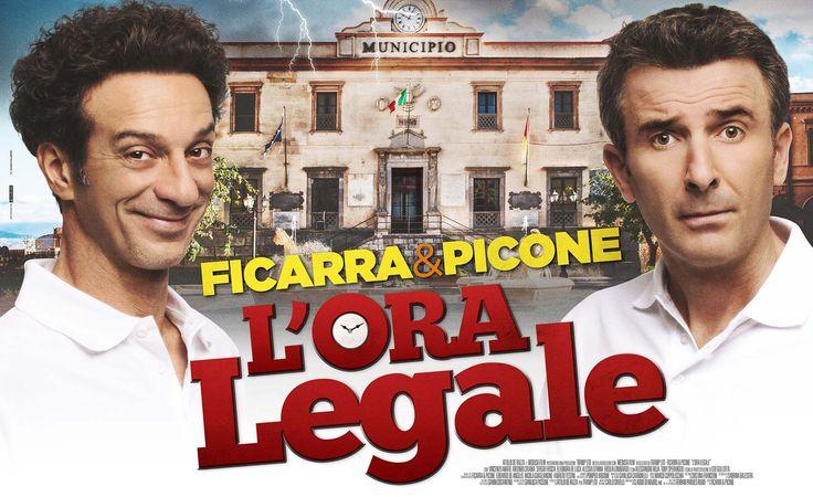 CINE ΣΕΡΡΕΣ, L'ora legale (2017), Ficarra, Picone, Vincenzo Amato,