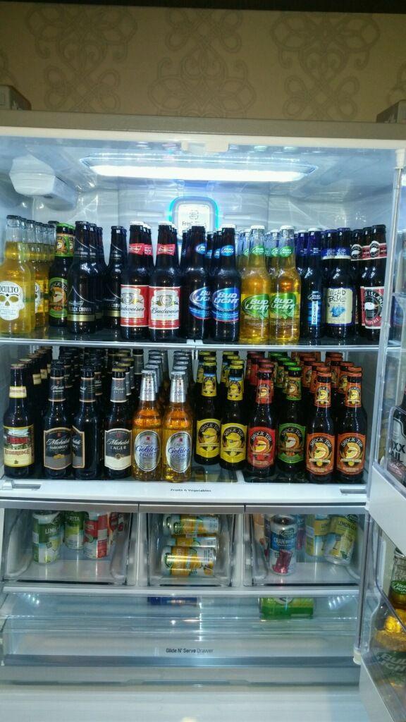 Man Cave Vending Machine : Fully stocked budwiser fridge man cave pinterest men