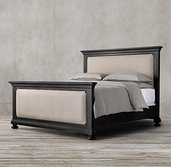St james upholstered bed with footboard master bedroom pinterest upholstered beds Master bedrooms with upholstered beds