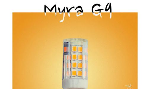 #LED #Lamp Myra #G4 #Logicsun - www.logicsun.it