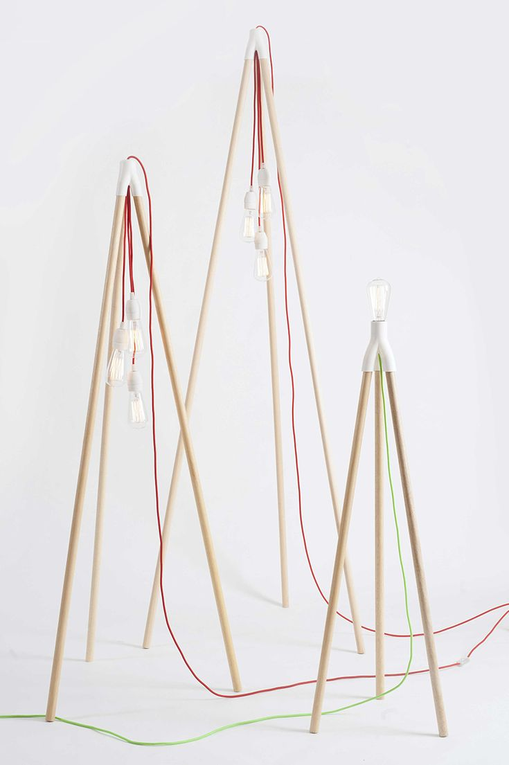 this tripod light turns any object into a light. By MID