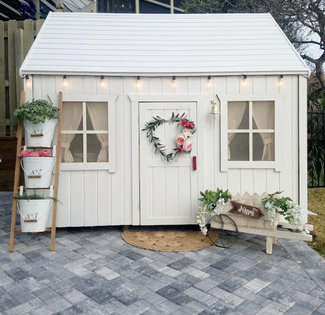 Beautiful Homes Of Instagram Coastal Farmhouse Home Bunch Interior Design Ideas Shed Makeover Farmhouse Sheds Play Houses