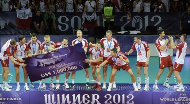 Siatkarze Zwycięzcy Ligii Światowej 2012
