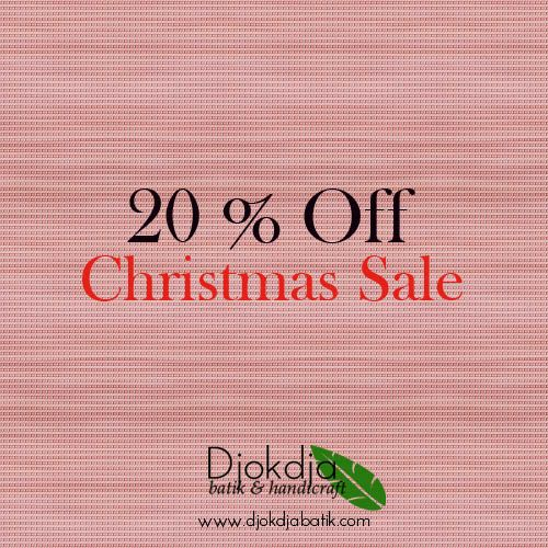 Welcoming the joyous and glorious Christmas Season within this month, Djokdja Batik would like to grant you a 20 % discount for each of these selected handbag products. Grab em' soon & Happy Holiday :) #djokdjabatik #christmas