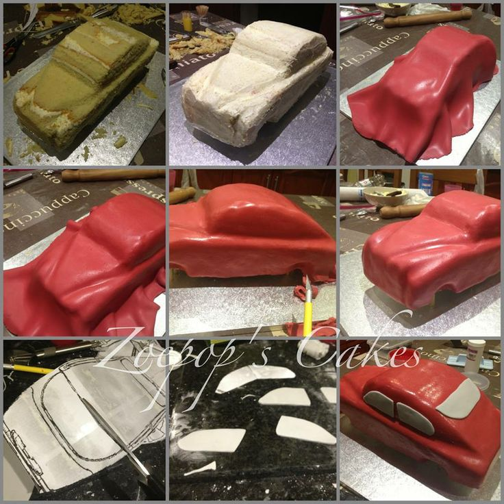 Hope This Helps Show The Steps I Went Through To Make My Car Cake If You Need Any Help Just Let Me Know