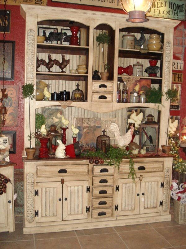Furniture And Much More...... Primitive Peddler Store In Cameron,
