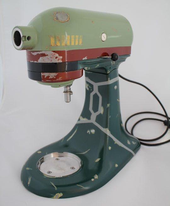 This Boba Fett KitchenAid Mixer Should Be Cloned | Apartment Therapy