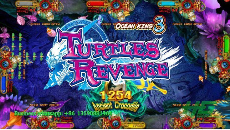 Igs Original Ocean King 3 Turtle Revenge Fishing Game Ocean King 3 Plus Fish Hunter Game Gameplay Demo Gametub Hunter Games Fishing Game Arcade Game Machines