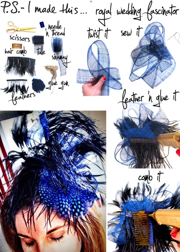 How Do I Make Fascinators | 23 BEAUTIFUL DIY HAIR ACCESSORIES - Fashion Diva Design