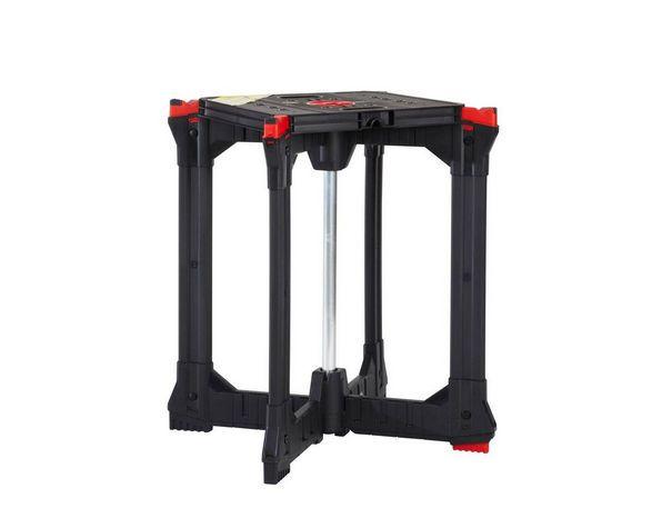 Husky X-Workhorse Portable Folding Mobile Jobsite Tool Workbench Table Stand #Husky