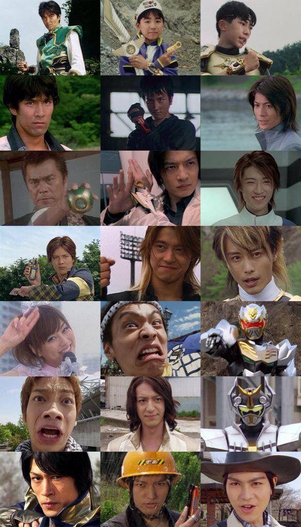 Super Sentai 6th Rangers: Zyuranger-Ninninger
