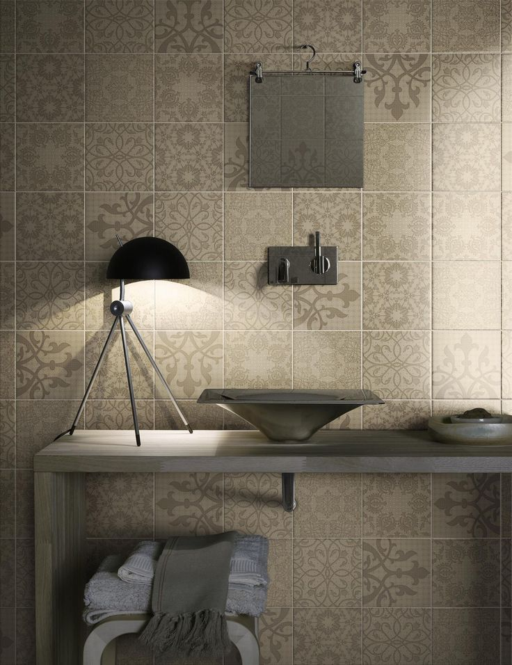 A series of porcelain tiles from the Ceramica Bardelli. Minoo has been created by the Dutch designer Marcel Wanders.