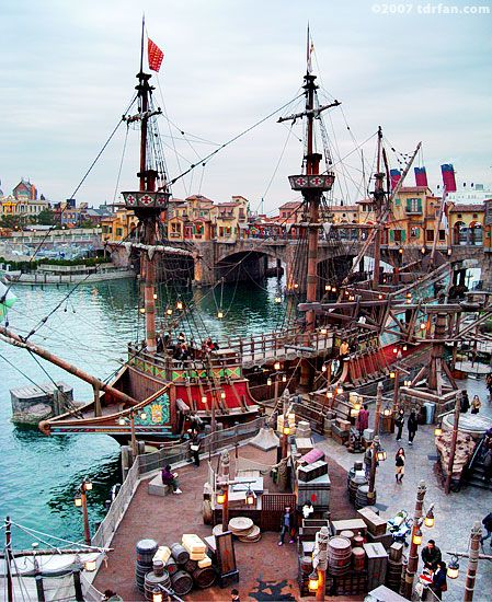 Tokyo Disney Sea ~ Tokyo, Japan