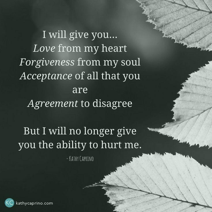 I will give love - kathycaprino.com