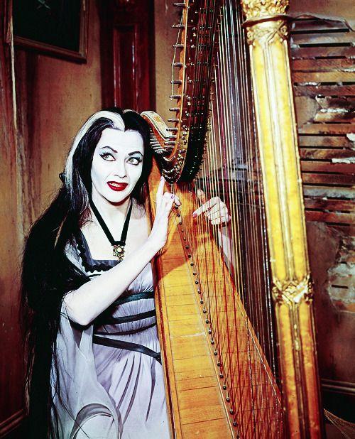 "vintagegal: "" Yvonne De Carlo as Lily Munster, 1960's """