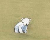 Adorable polar bear!  From Creative Thursdays.