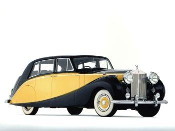 Rolls-Royce Silver Wraith Empress Limousine by Hooper '1956