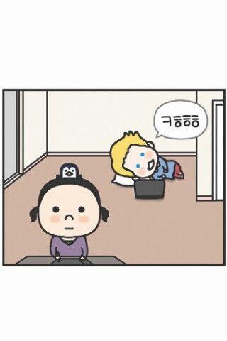 Penguin&mev. Naver webtoon