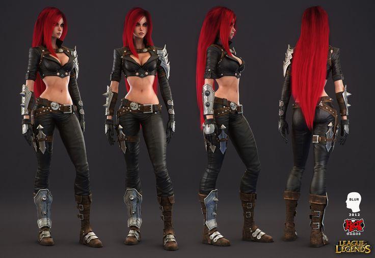 A character sculpt for Blur Studio's cinematic for Riot Games' League of Legends.