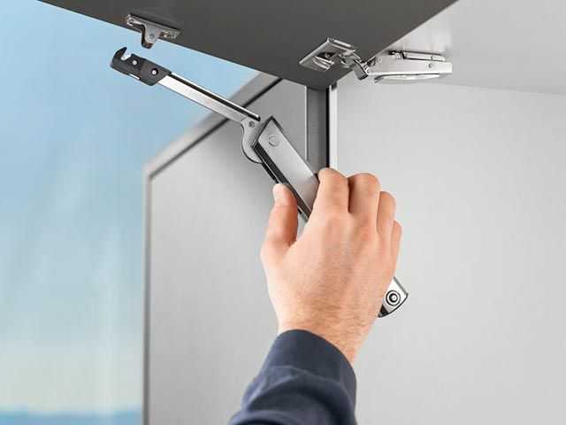 Once the lift mechanism has been precisely adjusted AVENTOS HK-XS will always open, close & hold reliably #liftups http://www.blum.com/aventoshkxs/