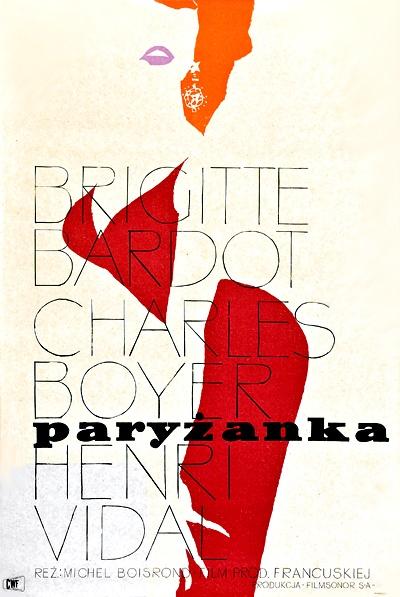 1958 Waldemar Swierzy - Une Parisienne