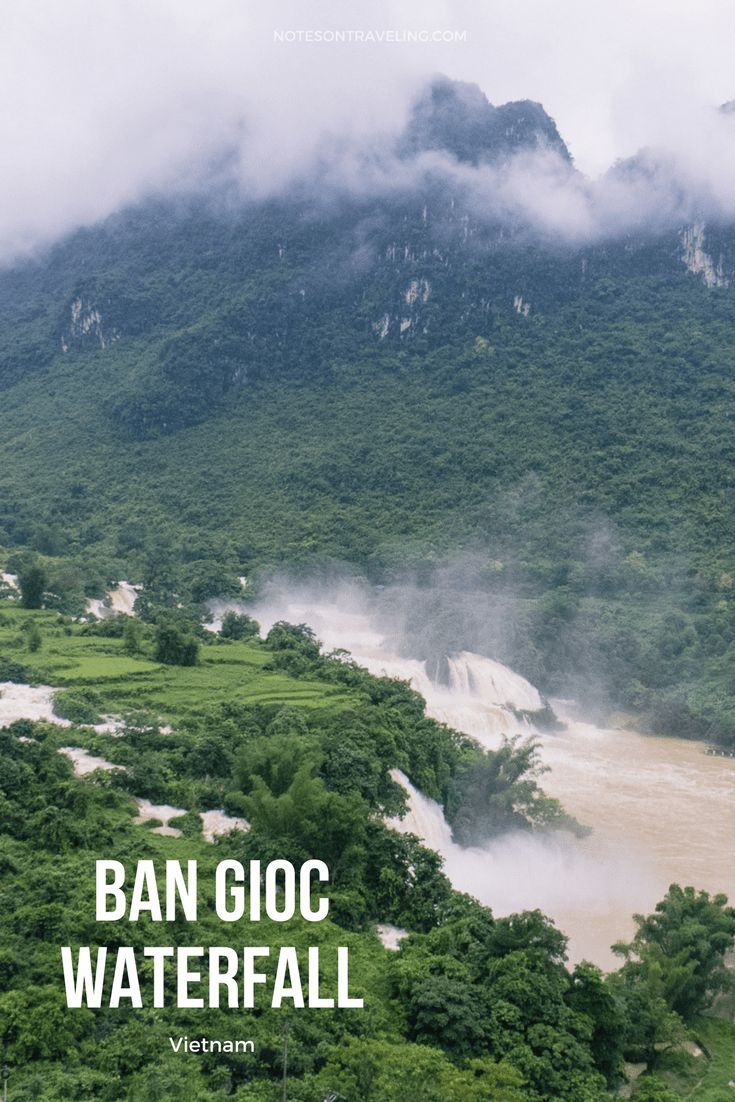 Ban Gioc waterfalls are a still a hidden gem in the North of Vietnam. I visited the falls and the adjacent Nguom Ngao cave by bus from Hanoi.   #travelguide #vietnamtravel #destinationguide