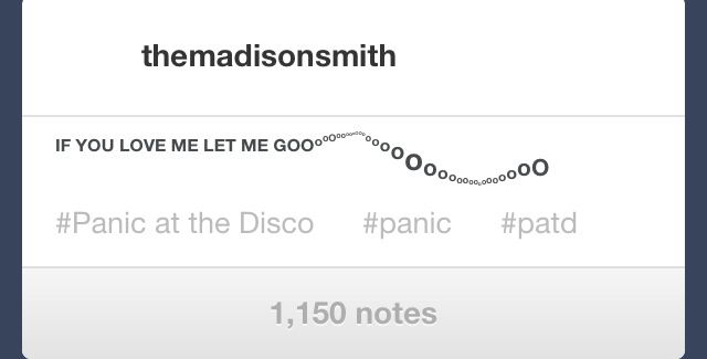 """""""This Is Gospel""""~Panic! At The Disco"""